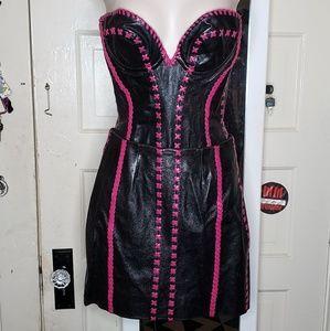 Bespoke Corset and Skirt Matching Set